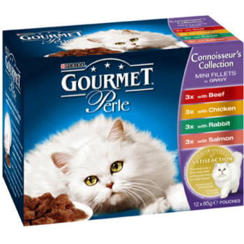 Gourmet Perle Connoisseurs Selection Cat Food
