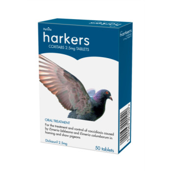 Harkers Coxi Tabs 50 Tablets