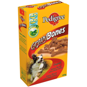 Pedigree Original Gravy Bones Biscuit Adult Dog Treat