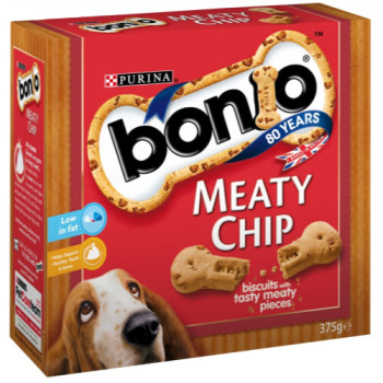 Bonio Meaty Chip Dog Biscuits