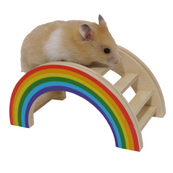 Rosewood Boredom Breaker Rainbow Play Bridge Small
