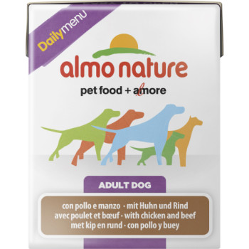 Almo Nature Daily Menu Chicken & Beef Adult Dog Food