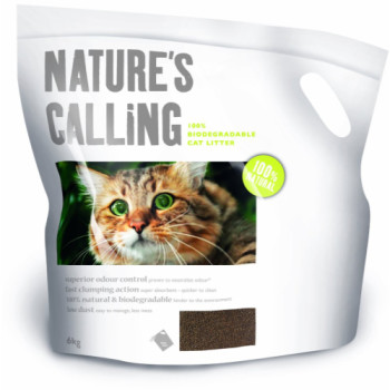Natures Calling Biodegradable Cat Litter