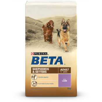BETA Breed Nutrition Setters & Shepherds Adult Dog Food
