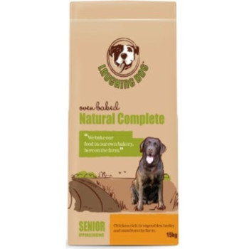 Laughing Dog Natural Complete Chicken Senior Dog Food