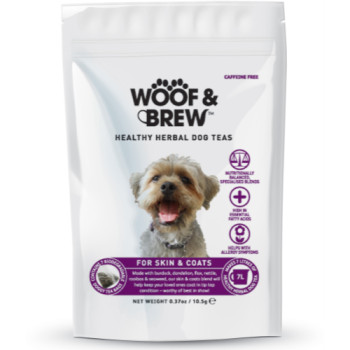 Woof & Brew Herbal Dog Tea Skin & Coat
