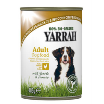 Yarrah Organic Chicken With Nettle And Tomato Dog Food