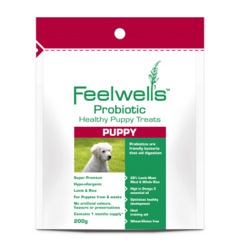 Feelwells Probiotic Super Premium Healthy Puppy treats