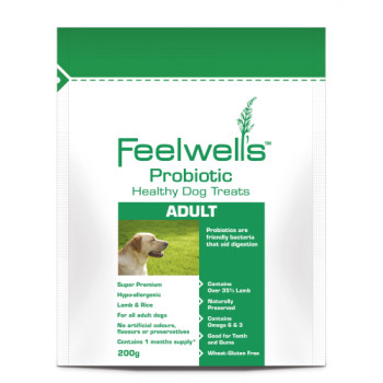 Feelwells Probiotic Super Premium Healthy Adult Dog Treats