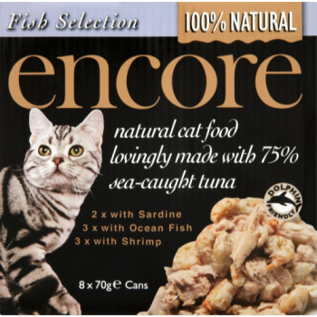 Encore Fish Selection Can Cat Food