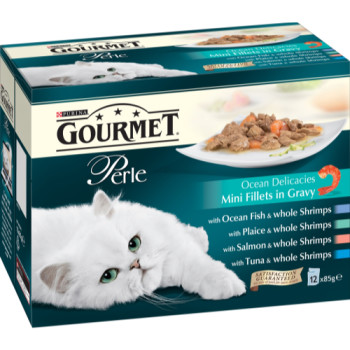 Gourmet Perle Ocean Delicacies Cat Food