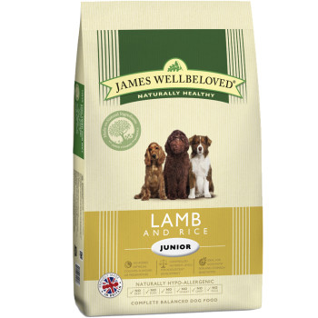 James Wellbeloved Lamb & Rice Junior Dog Food