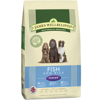 James Wellbeloved Fish & Rice Senior Dog Food
