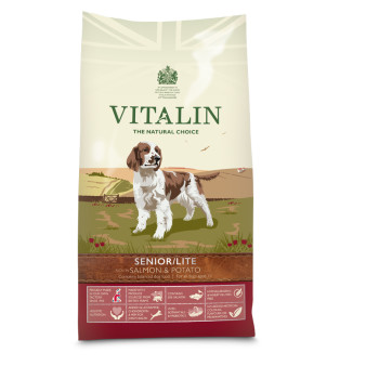 Vitalin Natural Senior Salmon & Potato Dog Food