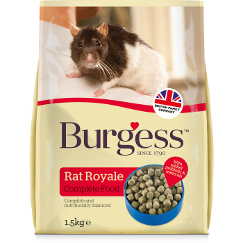 Burgess Complete Royale Rat Food