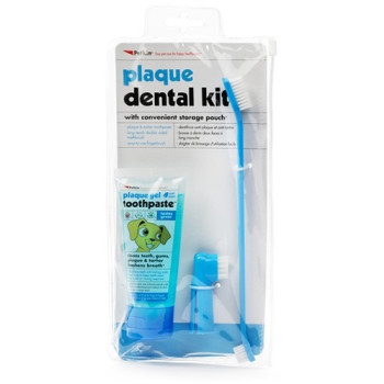 Petkin Plaque Dental Dog Kit