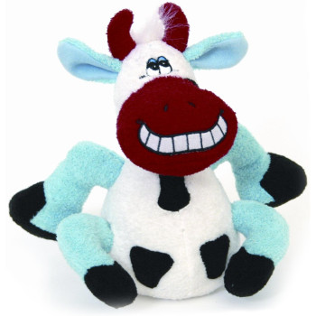 Happy Pet Beamer Talking Cow Dog Toy