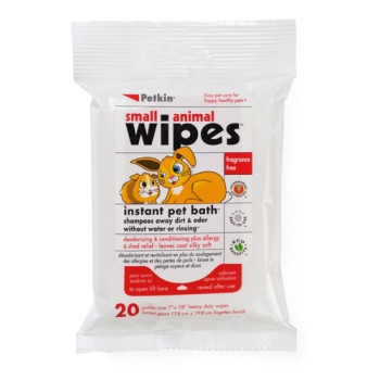 Petkin Small Pet Wipes