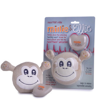Millie & Ellie Heartfelt Puppy Toy