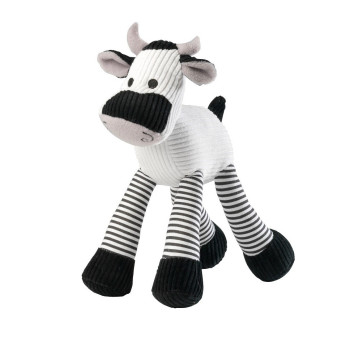 House Of Paws Nosiy Cow Cord Dog Toy