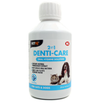 VetIQ 2in1 Denti Care Oral Hygiene Solution