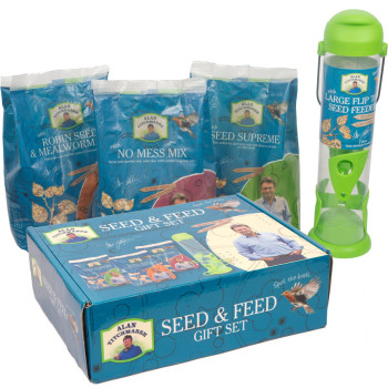 Alan Titchmarsh Variety Bird Seed Mix & Feeder Gift Set