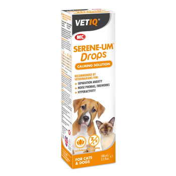 Mark & Chappell VetIQ Serene-Um Calming Drops for Cats & Dogs