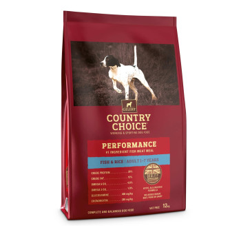 Gelert Country Choice Performance Fish & Rice Adult Dog Food