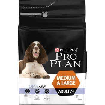 PRO PLAN OPTIAGE Chicken Senior 7+ Medium & Large Adult Dog Food