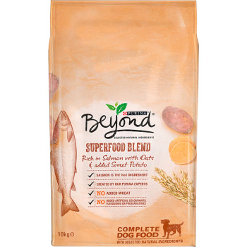 Purina Beyond Superfood Blend Salmon Oats & Sweet Potato Adult Dog Food