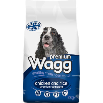 Wagg Complete Premium Chicken & Rice Adult Dog Food