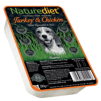 Naturediet Turkey & Chicken Vegetables & Rice Dog Food