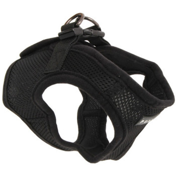 Puppia Soft Black Jacket Dog Harness