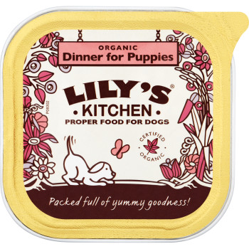 Lilys Kitchen Organic Dinner for Puppies