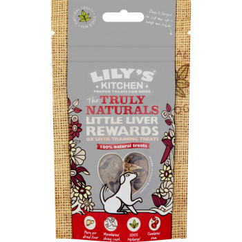 Lilys Kitchen Truly Natural Little Liver Dog Chews