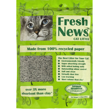Fresh News Cat Litter (Previously Yesterdays News)