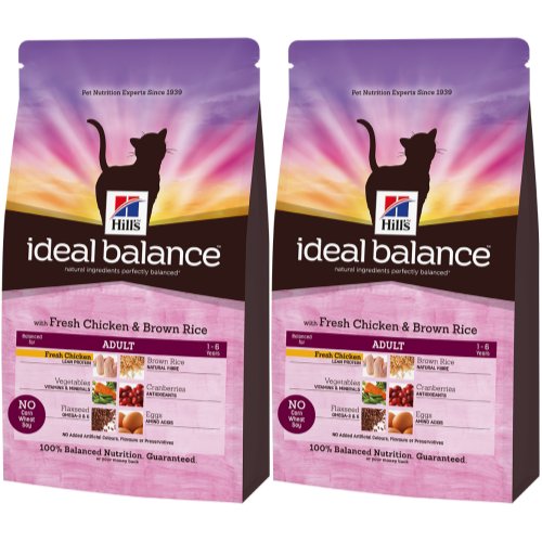 Hills Ideal Balance Feline Adult Chicken & Brown Rice