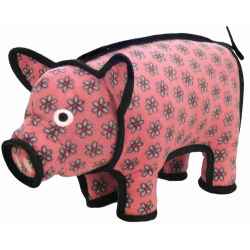 Tuffy Barnyard Pig Dog Toy