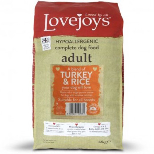 Lovejoys Turkey & Rice Dog Food