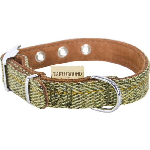 Earthbound Tweed Green Collar