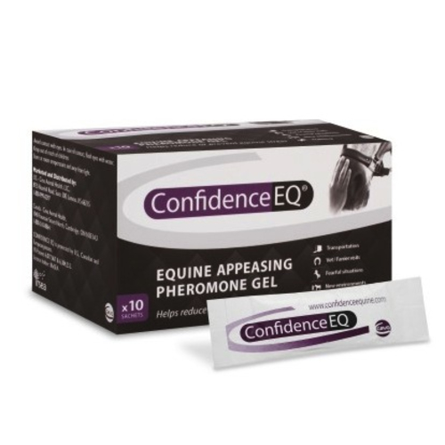 Confidence EQ Horse Calming Supplement Box of 10 Sachets