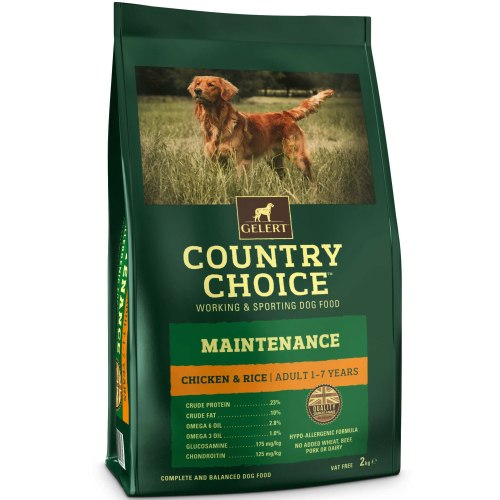 Gelert Country Choice Maintenance Chicken & Rice Adult Dog Food