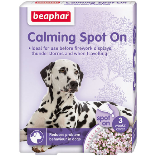 Beaphar Calming Spot On for Dogs 3 Pipettes