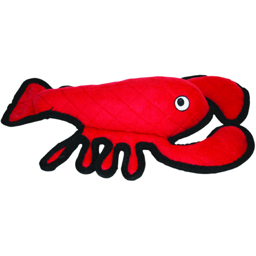 Tuffy Sea Creatures Lobster Dog Toy