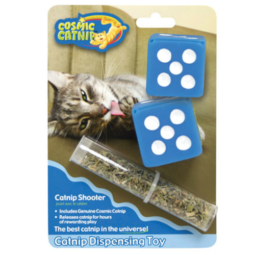 Cosmic Catnip Dispensing Dice Cat Toy