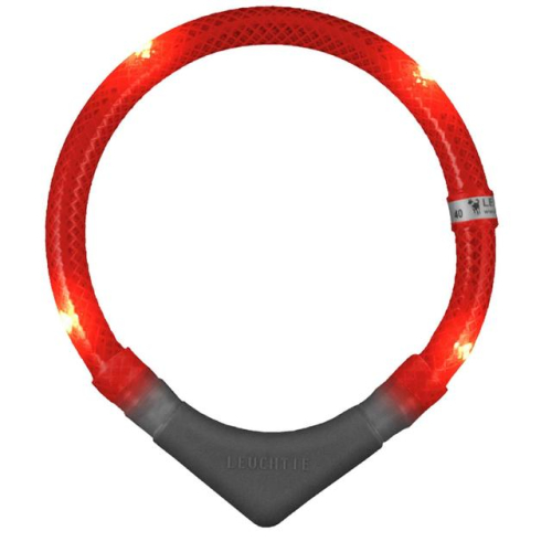 Leuchtie Plus LED Red Dog Collar