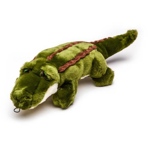 Fluff & Tuff Georgia Gator Green Dog Toy
