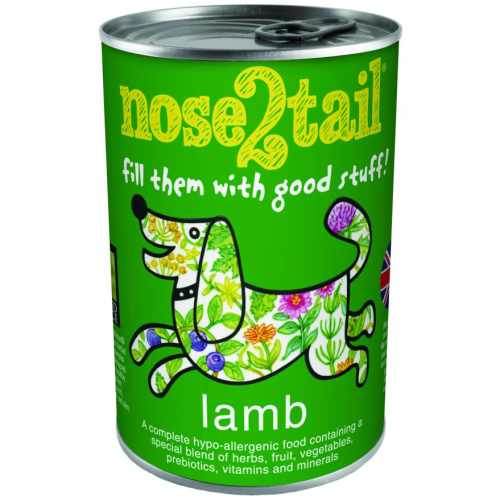 Nose 2 Tail Lamb Loaf Dog Food