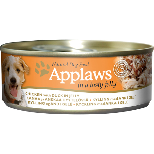 Applaws Chicken & Duck in Jelly Wet Can Adult Dog Food