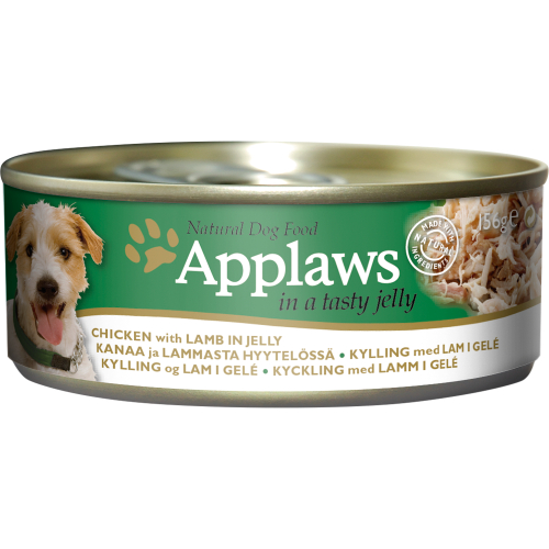 Applaws Chicken & Lamb in Jelly Wet Can Adult Dog Food